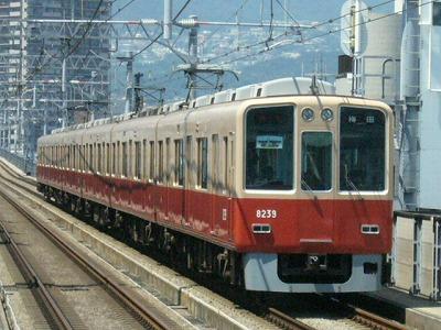 07.08.16 阪神本線 8239-8240F 特急梅田