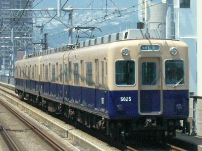 07.08.16 阪神本線 5025-5028F 普通梅田