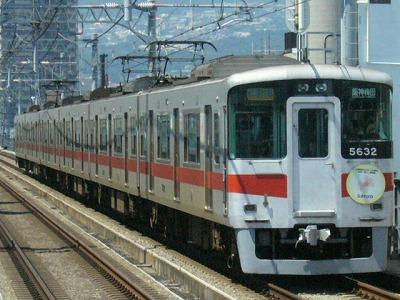 07.08.16 阪神本線 山陽5032F 直通特急梅田