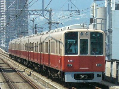07.08.16 阪神本線 8231-8232F 特急梅田