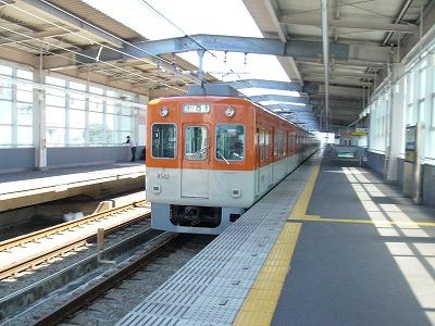 07.08.16 阪神本線 8502