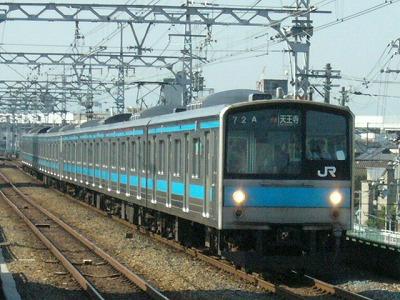 07.08.17 阪和線 205系1000 快速天王寺