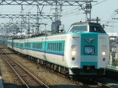 07.08.17 阪和線 381系 特急くろしお新大阪
