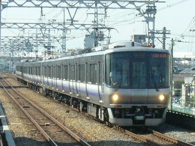 07.08.17 阪和線 223系0 関空/紀州路快速 大阪・京橋