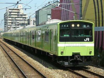 07.08.17 関西本線 44A 201系 普通奈良