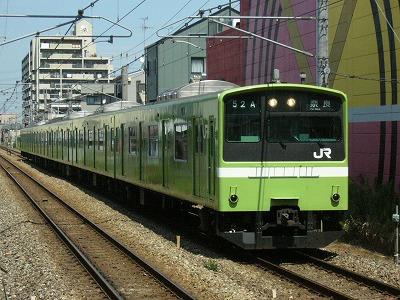 07.08.17 関西本線 52A 201系 普通奈良