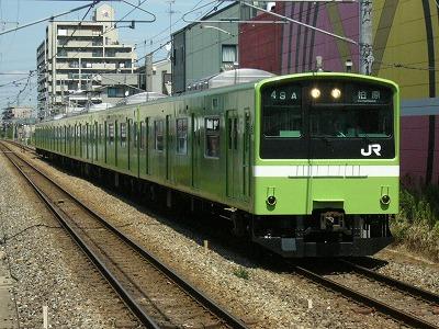 07.08.17 関西本線 49A 201系 普通柏原
