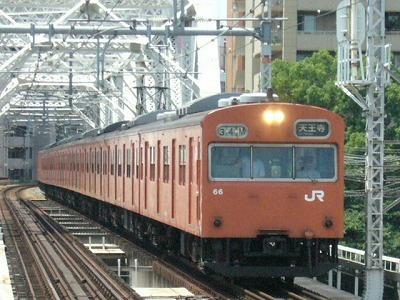 07.08.17 大阪環状線 34M モリ3 外回り天王寺