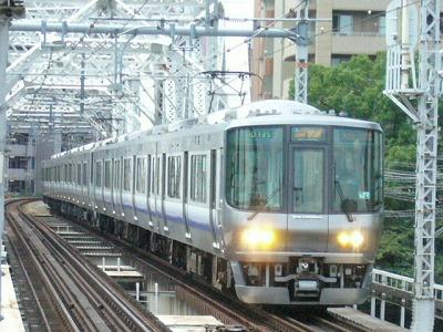 07.08.17 大阪環状線 関空・紀州路快速 京橋