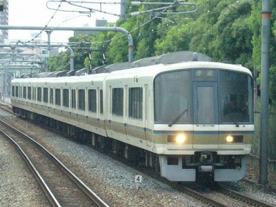 07.08.17 大阪環状線 221系 大阪まで普通、大阪から大和路快速加茂行