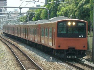 07.08.17 大阪環状線 36M モリ209 内回り