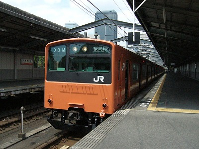 07.08.17 大阪環状線 幕故障でレア幕1