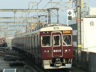 07.08.20 阪急宝塚線 6013F 急行梅田