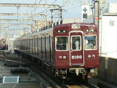 07.08.20 阪急宝塚線 5100F 普通梅田