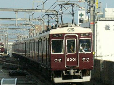 07.08.20 阪急宝塚線 6001F 普通梅田