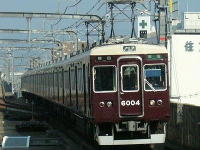 07.08.20 阪急宝塚線 6004F 準急梅田