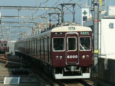 07.08.20 阪急宝塚線 6000F 通勤準急梅田