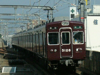 07.08.20 阪急宝塚線 5128F 準急梅田
