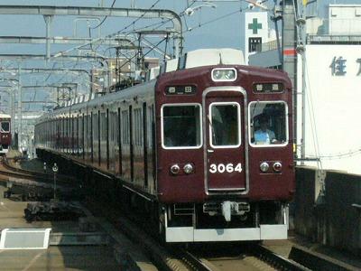 07.08.20 阪急宝塚線 3064F 普通梅田