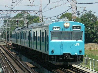 07.08.21阪和線 103系 普通熊取