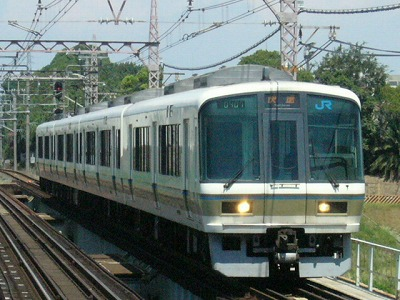 07.08.21阪和線 221系 快速