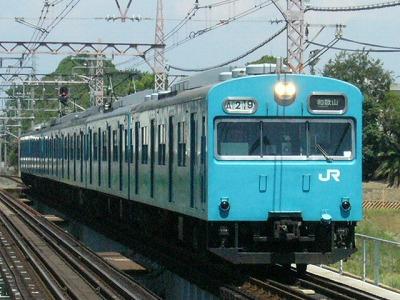 07.08.21阪和線 103系6R 普通和歌山
