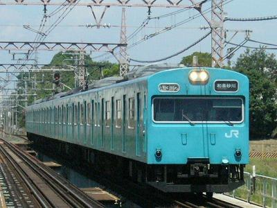 07.08.21阪和線 103系体質改善プロト車 普通和泉砂川