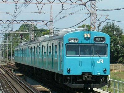 07.08.21阪和線 103系 普通和歌山