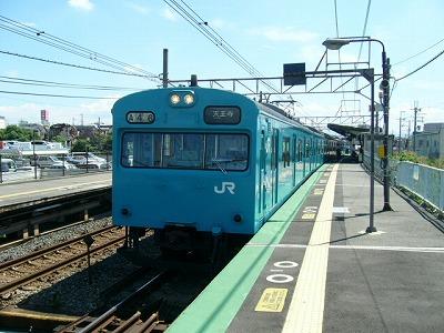 07.08.21阪和線 クモハ1036-2505