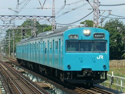 07.08.21阪和線 103系 普通和泉砂川