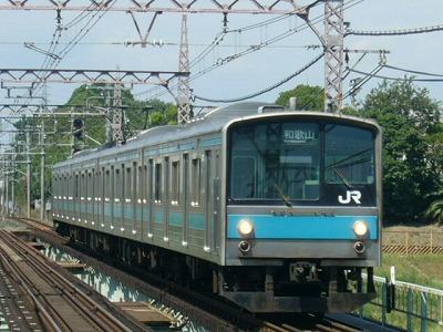 07.08.21阪和線 205系1000番台 普通和歌山