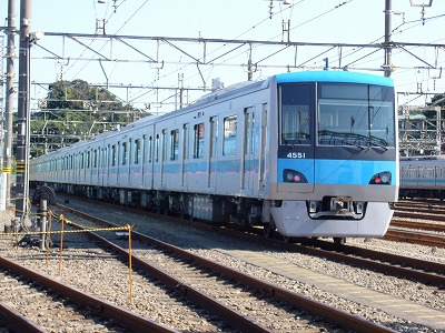 小田急ファミリー鉄道展 小田急4000形1