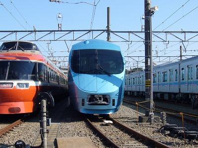 小田急ファミリー鉄道展 MSE