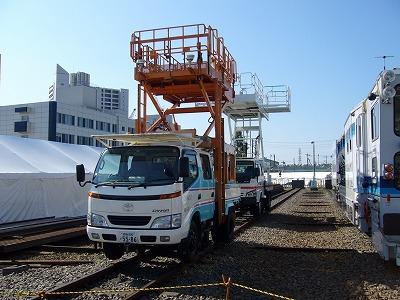 小田急ファミリー鉄道展 作業車