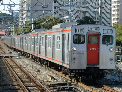 07.10.21 相鉄線 12運用 7707F 各停横浜