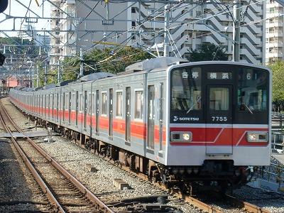 07.10.21 相鉄線 61運用 7755F 各停横浜