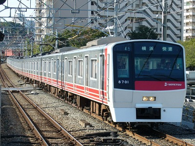07.10.21 相鉄線 45運用 8701F 快速横浜