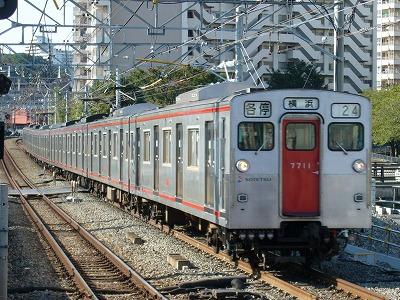 07.10.21 相鉄線 24運用 7711F 各停横浜