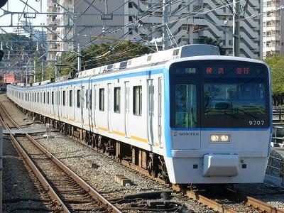 07.10.21 相鉄線 68運用 9707F 急行横浜