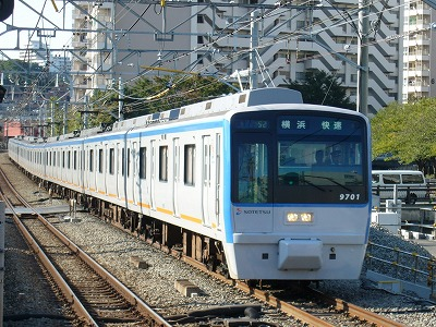 07.10.21 相鉄線 52運用 9701F 快速横浜