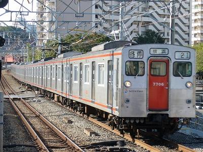 07.10.21 相鉄線 21運用 7706F 各停横浜