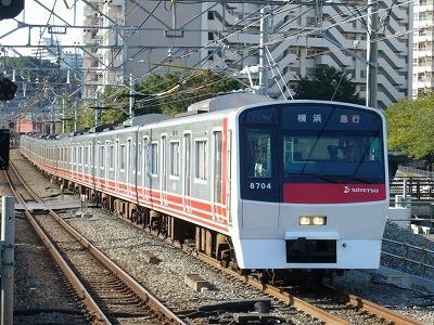 07.10.21 相鉄線 42運用 8704F 急行横浜