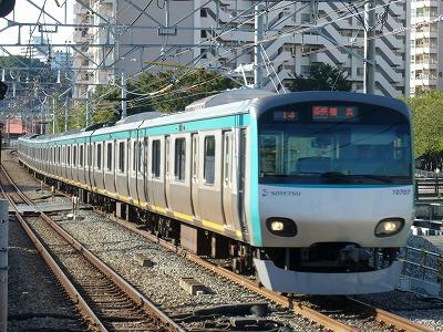 07.10.21 相鉄線 14運用 10707F 各停横浜