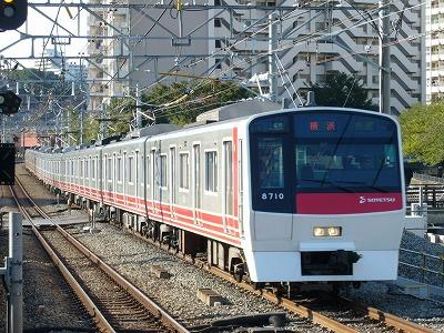 07.10.21 相鉄線 57運用 8710F 快速横浜