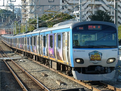 07.10.21 相鉄線 62運用 10708F 急行横浜