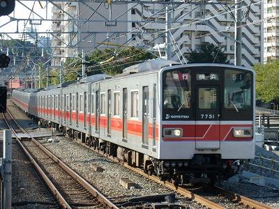 07.10.21 相鉄線 51運用 7751F 急行横浜