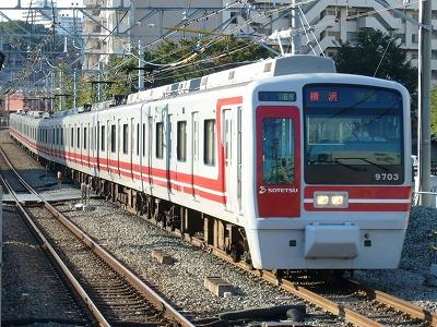 07.10.21 相鉄線 64運用 9703F 快速横浜