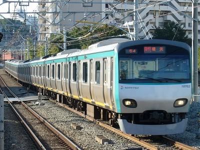 07.10.21 相鉄線 54運用 10702F 急行横浜