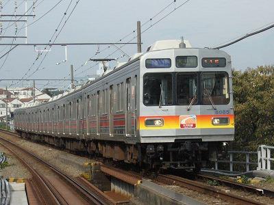 07.11.05 東急大井町線 115ゥ 8085F
