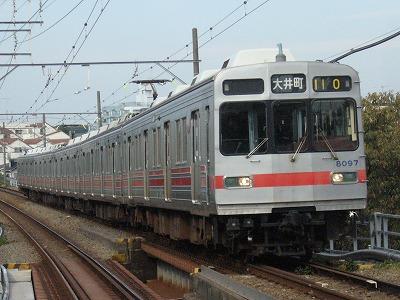 07.11.05 東急大井町線 110ゥ 8097F